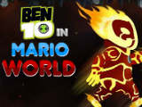 Ben 10: in Mario World - Juegos de Ben 10 Ultimate Alien