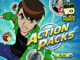 Ben 10 Alien Force: Action Packs - Juegos de Ben 10 y generador rex