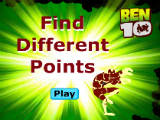 Ben 10: Find Different Points - Juegos de Ben 10 Ultimate Alien