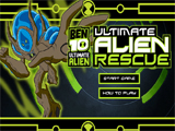 Ultimate alien rescue - Juegos de Ben 10 Ultimate Alien